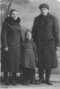 мои родители 1940г. ст.Заболотов